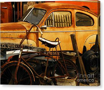 Rust Race Canvas Print by Joe Jake Pratt