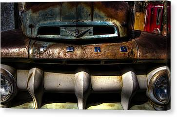 Rusted Canvas Print by Kelly Gibson