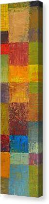 Rustic Layers 2.0 Canvas Print by Michelle Calkins