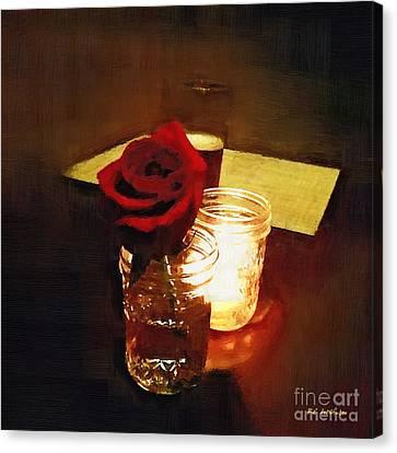 Rustic Romance Canvas Print by RC DeWinter