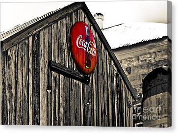 Rustic Canvas Print by Scott Pellegrin