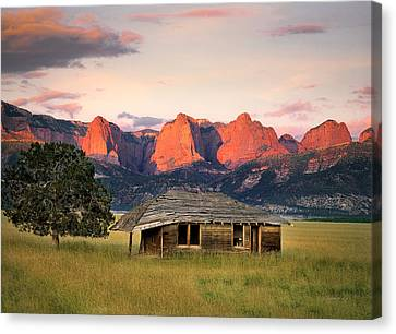 Rustic Southwest Canvas Print by Leland D Howard
