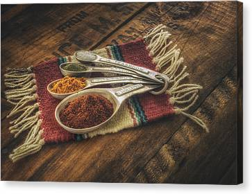 Rustic Spices Canvas Print by Scott Norris