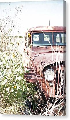Rusty Relic - 01 Canvas Print by Pamela Critchlow