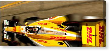 Ryan Hunter-reay Canvas Print by Denise Dube