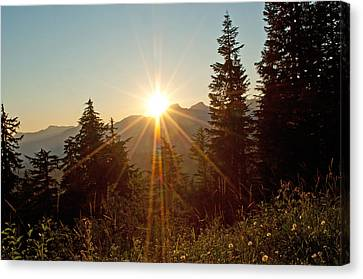 Sabbath Sunset Canvas Print by Tikvah's Hope