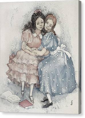 Sacharoff, Olga 1889-1969. Netochka Canvas Print by Everett