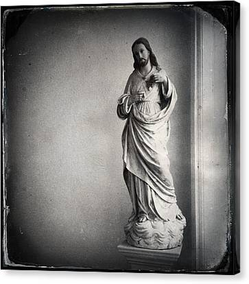 Sacred Heart 2 Canvas Print by H James Hoff
