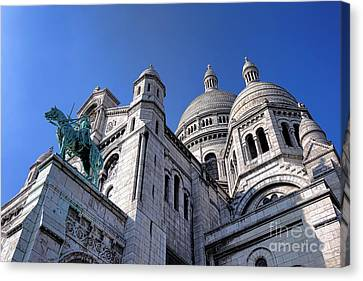 Sacred Heart Basilica  Canvas Print by Olivier Le Queinec