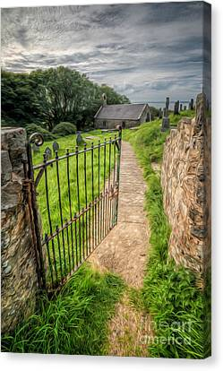 Sacred Path Canvas Print by Adrian Evans