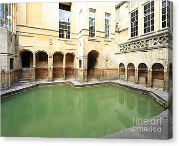 Sacred Roman Spring Canvas Print by Paul Cowan