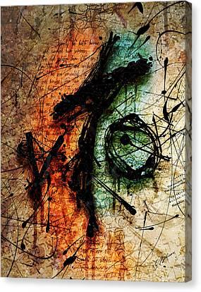Sacrifice Canvas Print by Gary Bodnar