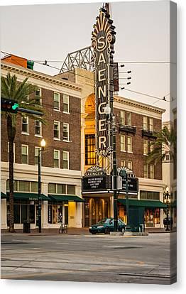 Saenger Theatre New Orleans Canvas Print by Steve Harrington