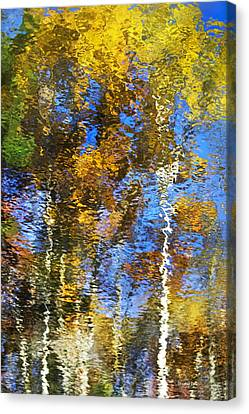 Safari Mosaic Abstract Art Canvas Print by Christina Rollo