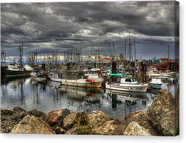Safe Haven Canvas Print by Randy Hall