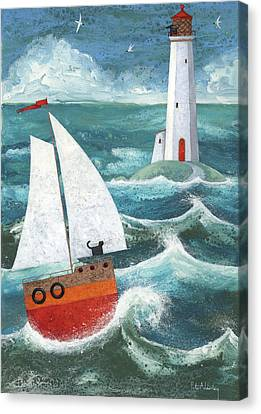 Safe Passage Variant 1 Canvas Print by Peter Adderley