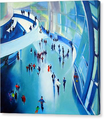 Sage Gateshead Canvas Print by Neil McBride