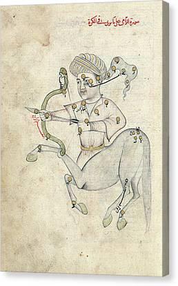 Sagittarius Constellation Canvas Print by Library Of Congress
