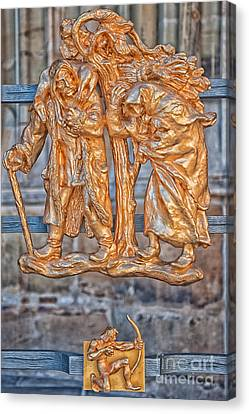 Sagittarius Zodiac Sign - St Vitus Cathedral - Prague Canvas Print by Ian Monk