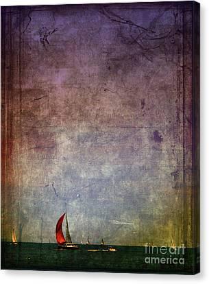 Sail Away Canvas Print by Elora Daphne