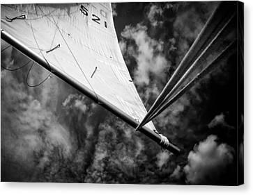 Sail Canvas Print by Stelios Kleanthous