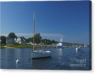Sailboat Ride Canvas Print by Amazing Jules