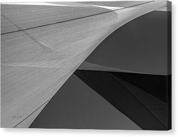 Sailcloth Abstract Number 9 Canvas Print by Bob Orsillo
