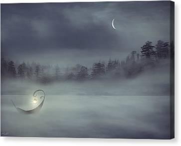 Sailing Odyssey Canvas Print by Lourry Legarde