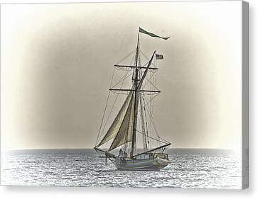Sailing Off Canvas Print by Jack R Perry