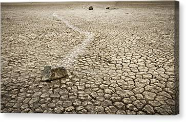 Sailing Stones Canvas Print by Eduard Moldoveanu