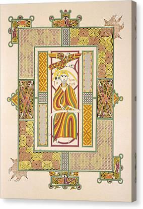 Saint John The Evangelist Canvas Print by Irish School