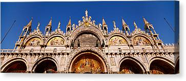 Saint Marks Basilica, Venice, Italy Canvas Print by Panoramic Images