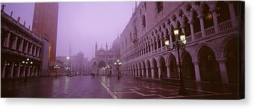 Saint Marks Square, Venice, Italy Canvas Print by Panoramic Images