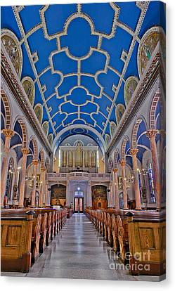 Saint Michaels Church Canvas Print by Susan Candelario