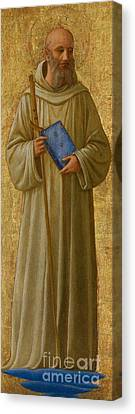 Saint Romuald Canvas Print by Fra Angelico