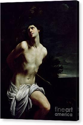 Saint Sebastian Canvas Print by Guido Reni