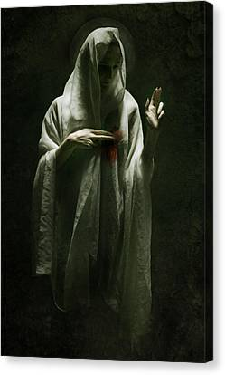 Saint Canvas Print by Wojciech Zwolinski