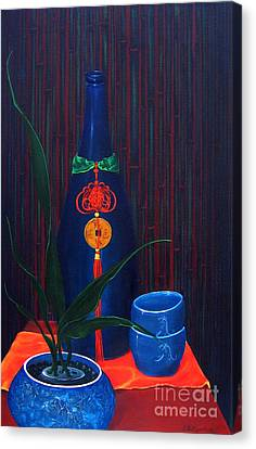 Saki Award Canvas Print by D L Gerring