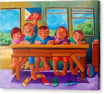 Salat Nguni't Sapat Canvas Print by Paul Hilario