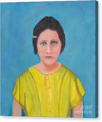 Sally Stevens Marcum Ky Canvas Print by Iris Richardson