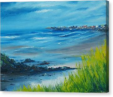 Salthill Galway Canvas Print by Conor Murphy