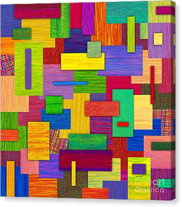 Sampler Canvas Print by David K Small