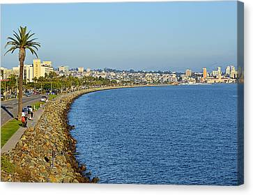 San Diego - America's Finest City Canvas Print by Christine Till