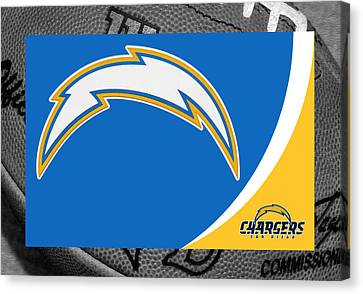 San Diego Chargers Canvas Print by Joe Hamilton