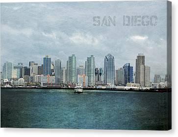 San Diego  Canvas Print by Sofia Walker
