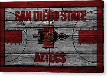 San Diego State Aztecs Canvas Print by Joe Hamilton
