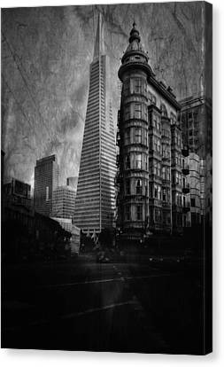 San Francisco Architecture Canvas Print by Chad Tracy