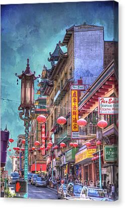 San Francisco Chinatown Canvas Print by Juli Scalzi