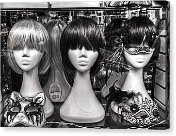 San Francisco Chinatown Window Display Mannequin Heads Canvas Print by The  Vault - Jennifer Rondinelli Reilly