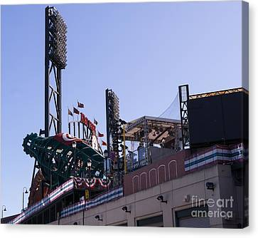San Francisco Giants World Series Baseball At Att Park Dsc1884 Canvas Print by Wingsdomain Art and Photography